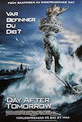 The Day After Tomorrow 2003 movie poster Dennis Quaid