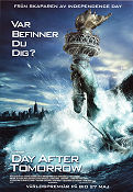 The Day After Tomorrow 2004 poster Dennis Quaid Roland Emmerich