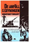 Action in the North Atlantic 1943 poster Humphrey Bogart Lloyd Bacon