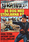 They Died with Their Boots 1941 poster Errol Flynn Raoul Walsh