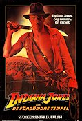 Indiana Jones and the Temple of Doom 1983 poster Harrison Ford