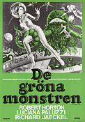 The Green Slime 1970 Movie poster Robert Horton Kinji Fukasaku