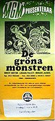 The Green Slime 1970 poster Robert Horton