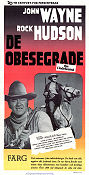 The Undefeated 1969 poster John Wayne