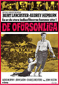 The Unforgiven 1960 Movie poster Burt Lancaster John Huston