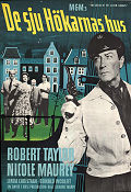 The House of the Seven Hawks 1959 poster Robert Taylor Richard Thorpe