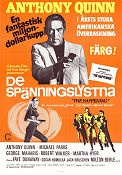 The Happening 1967 Movie poster Anthony Quinn
