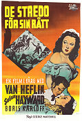 Tap Roots 1948 Movie poster Van Heflin