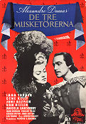 The Three Musketeers 1949 poster Lana Turner George Sidney