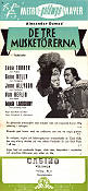 The Three Musketeers 1949 poster Lana Turner