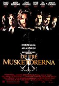 The Three Musketeers 1993 poster Charlie Sheen