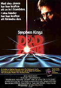 The Dead Zone 1983 poster Christopher Walken David Cronenberg