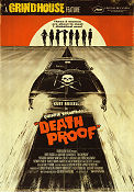 Death Proof 2007 Movie poster Kurt Russell Quentin Tarantino