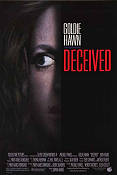 Deceived 1991 Movie poster Goldie Hawn Damian Harris