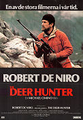 The Deer Hunter 1978 poster Robert De Niro Michael Cimino
