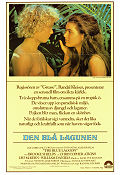 Blue Lagoon 1980 Movie poster Brooke Shields