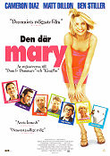 There´s Something About Mary 1996 poster Cameron Diaz Bobby Peter Farrelly