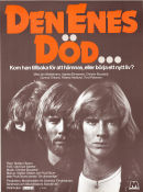 Den enes d�d 1980 Movie poster Jan Waldekranz