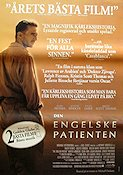 The English Patient 1997 Movie poster Ralph Fiennes Anthony Minghella