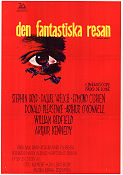 Fantastic Voyage 1966 poster Raquel Welch Richard Fleischer