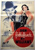 The Amazing Mr Williams 1940 poster Melvyn Douglas