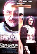First Knight 1995 Movie poster Sean Connery