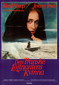 The French Lieutenant´s Woman 1981 poster Meryl Streep Karel Reisz
