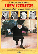 L'avare 1980 Movie poster Louis de Funes