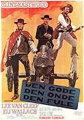 The Good the Bad and the Ugly 1968 poster Clint Eastwood Sergio Leone