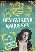 La carrozza d'oro 1952 Movie poster Anna Magnani Jean Renoir