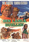 The Long Duel 1967 Movie poster Yul Brynner Ken Annakin
