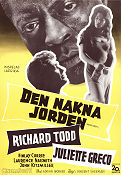 Naked Earth (1958) Richard Todd/Juliette Greco Poster 70x100cm
