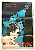 Find the Woman Poster PR 60x80 bad tape on back original