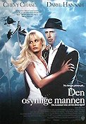 Memoirs of an Invisible Man 1992 Movie poster Chevy Chase