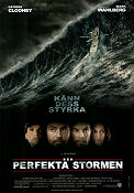 The Perfect Storm 2000 poster George Clooney Wolfgang Petersen