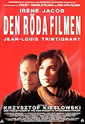 Trois couleurs: Rouge 1994 Movie poster Irene Jacob Krzysztof Kieslowski