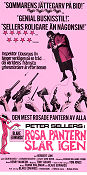 The Pink Panther Strikes Again 1977 poster Peter Sellers Blake Edwards