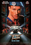 Street Fighter the Ultimate Battle 1994 poster Jean-Claude Van Damme Steven E de Souza