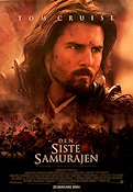 The Last Samurai 2004 Movie poster Tom Cruise