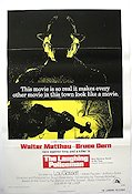 The Laughing Policeman 1973 Movie poster Walter Matthau