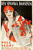 The Spanish Dancer 1923 poster Pola Negri Herbert Brenon