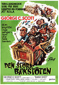 Bank Shot 1974 poster George C Scott
