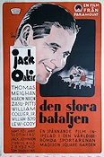 Madison Sq Garden 1932 Movie poster Jack Oakie