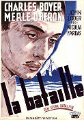 The Battle 1940 poster Charles Boyer Nicolas Farkas