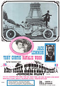 The Great Race 1966 poster Tony Curtis Blake Edwards