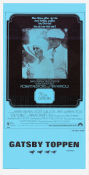 The Great Gatsby 1974 poster Robert Redford Jack Clayton
