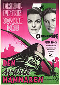 The Dark Avenger 1955 Movie poster Errol Flynn