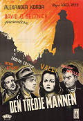 The Third Man 1949 poster Orson Welles Carol Reed