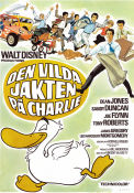 Den vilda jakten p� Charlie 1973 Movie poster Dean Jones