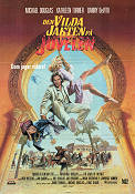 Jewel of the Nile 1985 Movie poster Michael Douglas